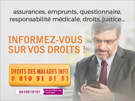 droits des malades 0810 51 51 51